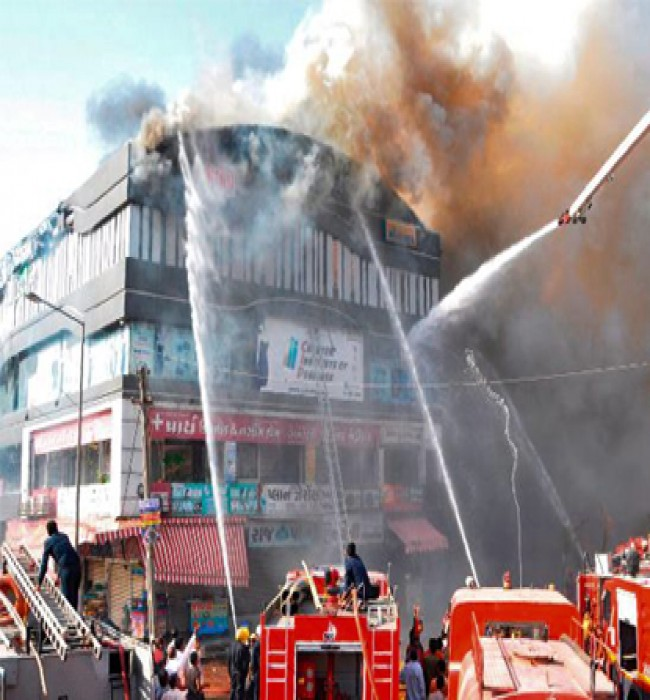 21 students killed, many injured in horrific fire accident in Surat commercial building