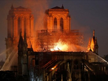 Historic Notre Dame carnage shocks the world