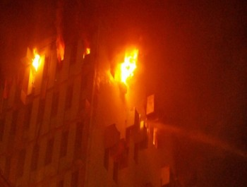 FIRE ON 13TH FLOOR IN EASTERN RAILWAY OFFICES – SAFETY MISMANAGEMENT STARK AND TRAGIC
