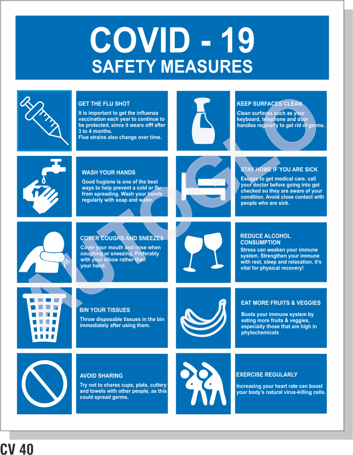 Covid19 Safety Posters
